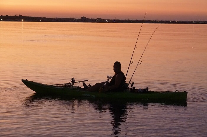 How to fish in a kayak