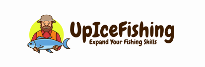 Up ice fishing logo
