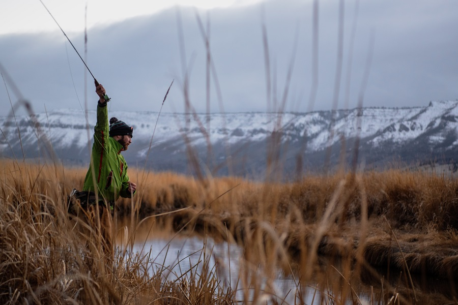 how to stay warm while fly fishing