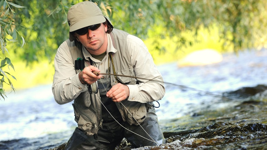 is fly fishing more effective for trout