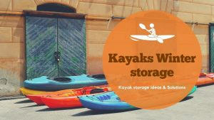 Can kayaks be stored outside in winter