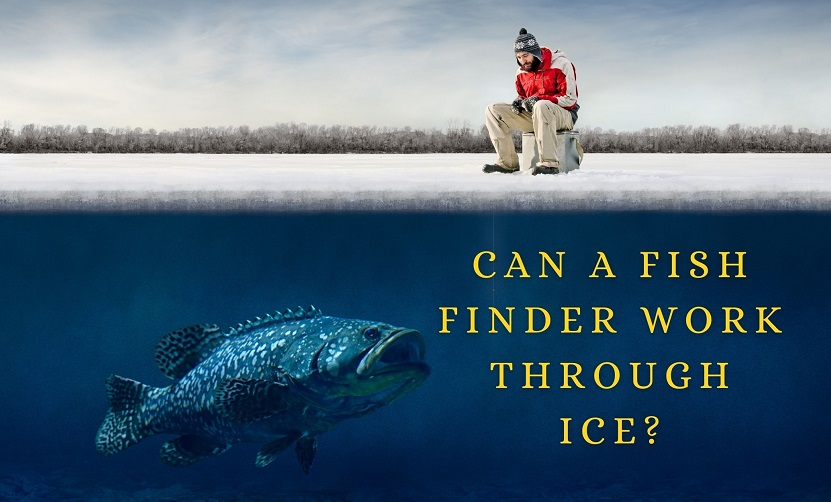 Can you use a Regular fish finder for ice fishing