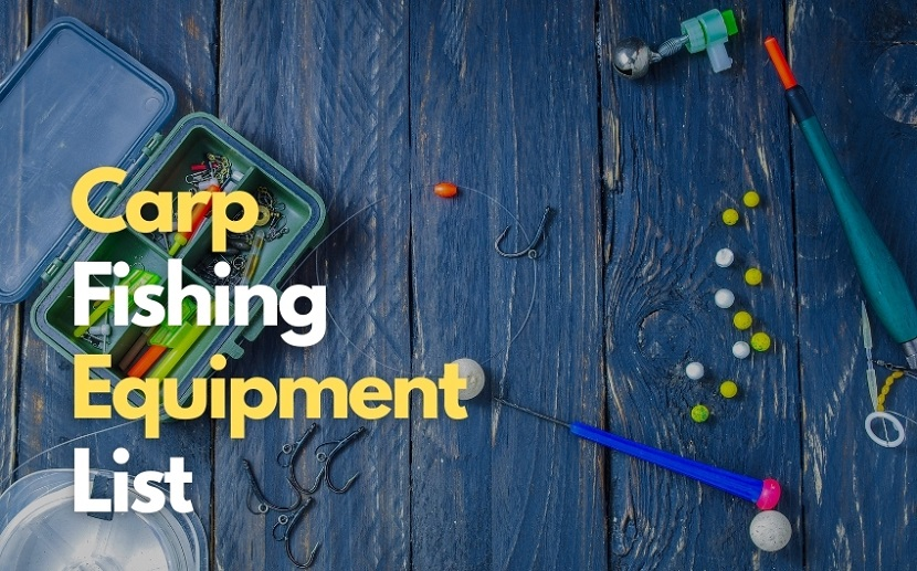 What gear do you need for carp fishing